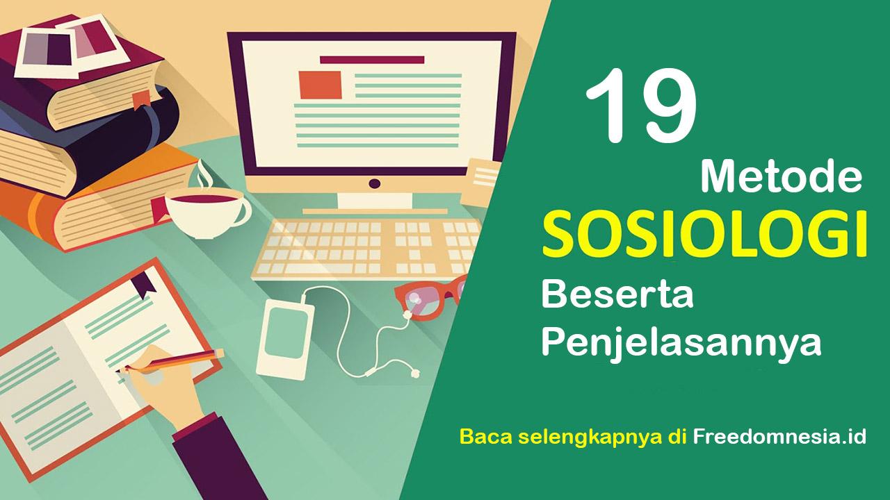 Metode sosiologi