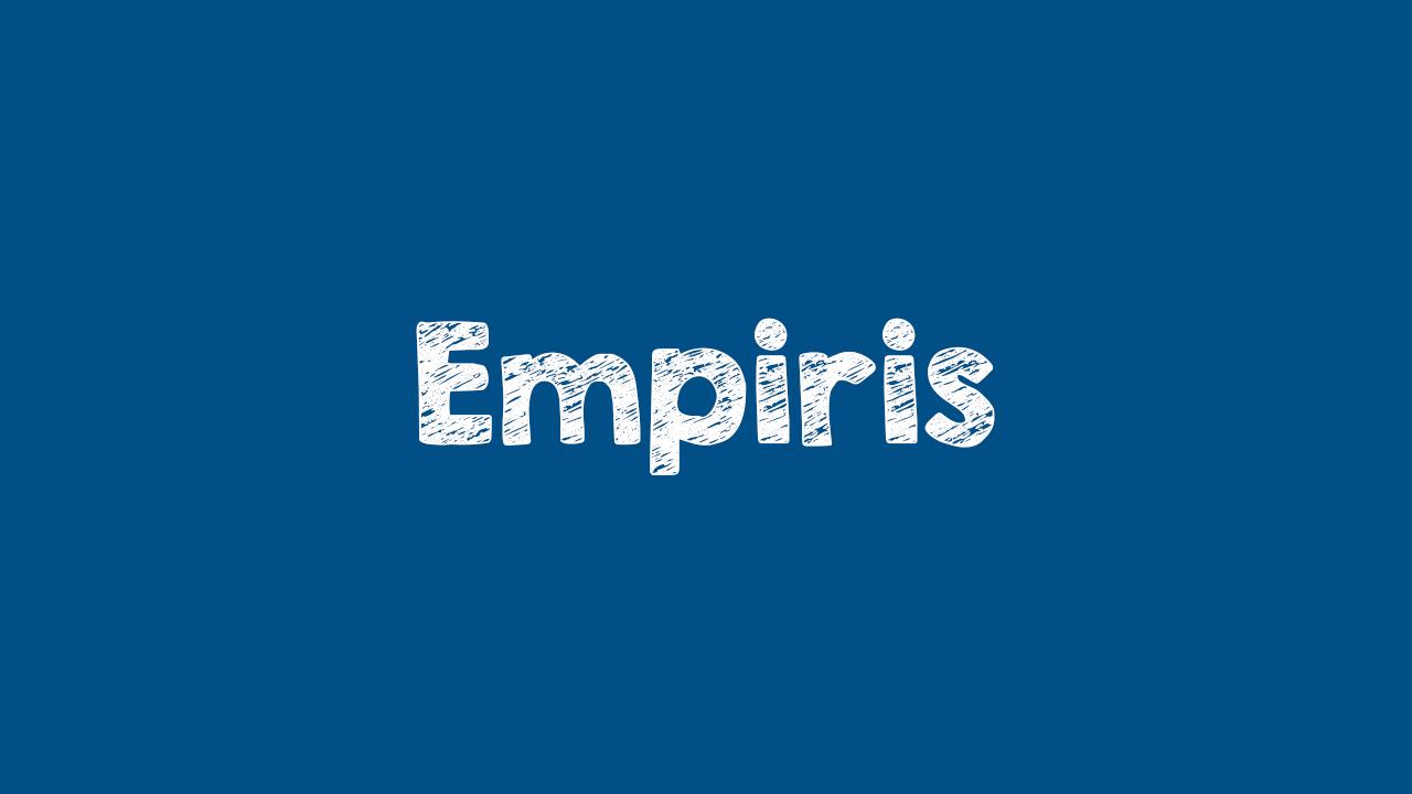 Pengertian Empiris