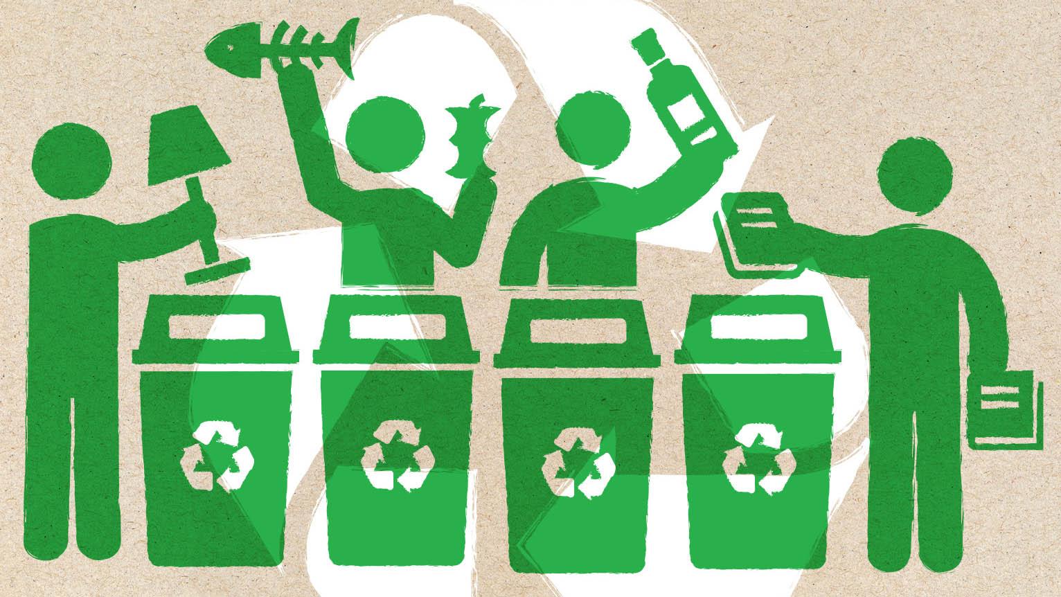 Pengertian Reduce, Reuse, dan Recycle
